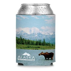 Collapsible Premium Foam Can Cooler - Full Color Sublimation