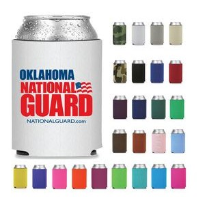 Collapsible Premium Foam Can Cooler - Screen Printed
