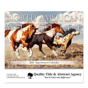 Stapled Wall Calendar (North American Wildlife)