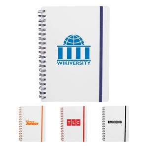Frosted Eco Spiral Notebook Jotter,