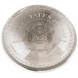 Glass Dome Paper Weight (Engraved)