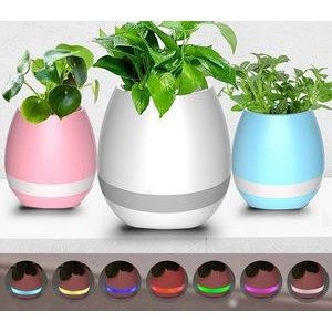 Mini Wireless Waterproof Wireless Speaker W/ Flower Pot