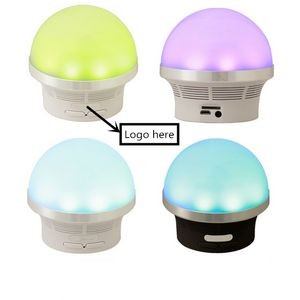 Mushroom Wireless speaker with LED flashing light