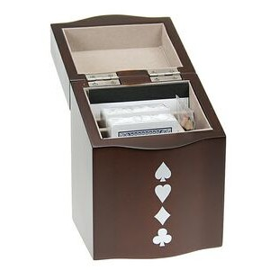 Playing Card Set in Wooden Box