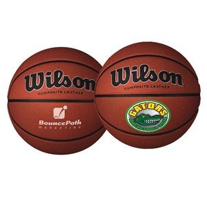Wilson® Full-Size Composite Leather Basketball