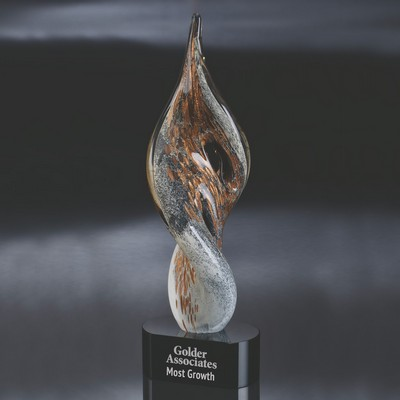 Copper Rising Art Glass Award