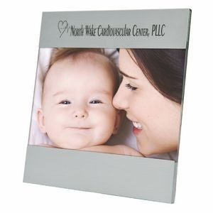 "Aluminum Picture Photo Frame Holds 4"" X 6"" Photograph"
