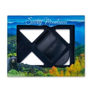 "Small Acrylic Picture Frame 3.75"" x 4.75"" Rectangle 3""x4"" photo"