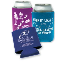 Open Cell Can-Tastic® Beverage Insulator (1 Color/ 1 Location)