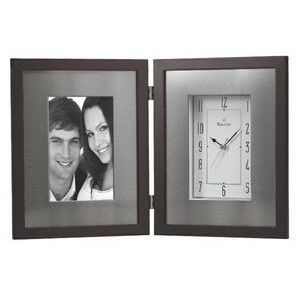 Winfield Desk Clock and Picture Frame