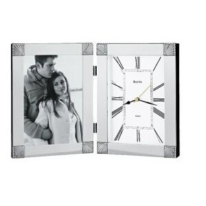 Ceremonial Desk Clock and Picture Frame
