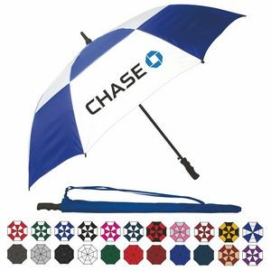 "Wind-Vented Automatic Golf Umbrella (60"" Arc)"