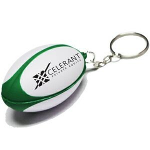 Rugby Football Stress Reliever Keychain