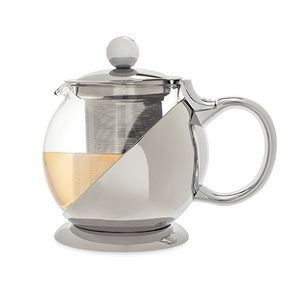 Shelby Stainless Steel Wrapped Teapot & Infuser by Pinky Up