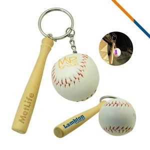 Baseball Bar Keychain